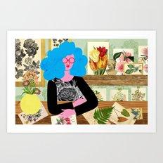 Garden Room Art Print