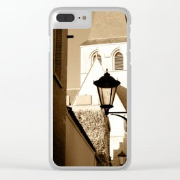 A shortcut to church Clear iPhone Case