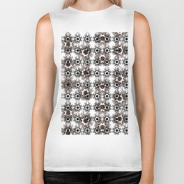 Abstract geometric pattern.10 Biker Tank