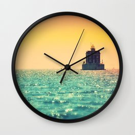 Ernie's House Wall Clock