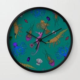 SEA CREATURES Wall Clock