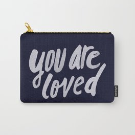 You Are Loved x Navy Carry-All Pouch