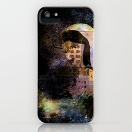 JEZEBEL-6-4-Abstract iPhone Case