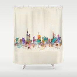 Frankfurt city Germany Shower Curtain