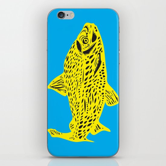 Gone Fishing iPhone & iPod Skin