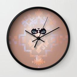Indigenous Girl Wall Clock