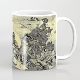 Toad Licking  Coffee Mug
