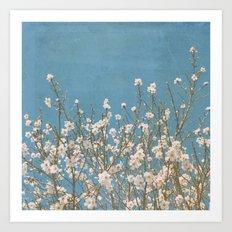 Reaching for Spring Art Print