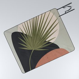 Tropical Leaf- Abstract Art 5 Picnic Blanket