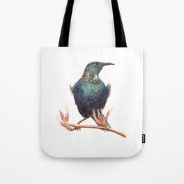 Tui - a native New Zealand bird 2013 Tote Bag
