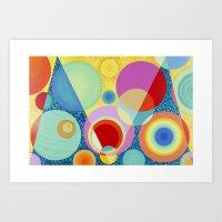 Diatoms #1 Art Print