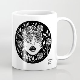 No matter how many thorns you encounter in life, bloom Coffee Mug
