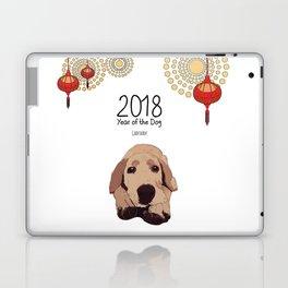 Year of the Dog - Golden Lab Laptop & iPad Skin