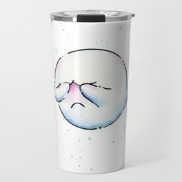 Shy Ghost Travel Mug