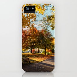 Crazy Fall iPhone Case