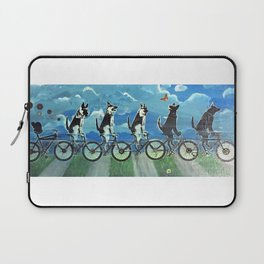 Five Doggos and a Cat Laptop Sleeve