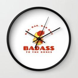 BAD BAD BAD BOY To The Bones - BAD BOY Wall Clock