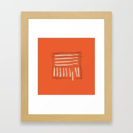 Yarns - Out of the box Framed Art Print
