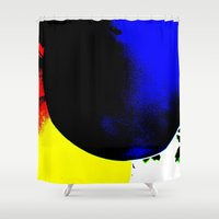 balloons Shower Curtains featuring Balloons  by Françoise Reina