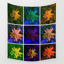 Sumac Collage Wall Tapestry