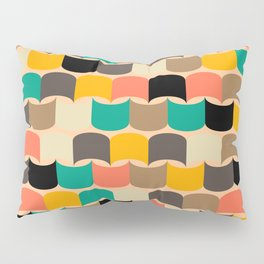 Retro abstract pattern Pillow Sham
