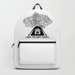 Hash Tag Happy Camper Backpack