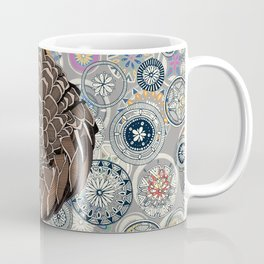 pangolin mandala Coffee Mug