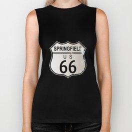 Springfield Route 66 Biker Tank