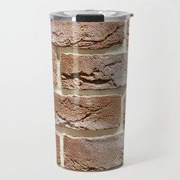 Brick wall texture Travel Mug
