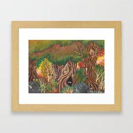 sylvan forest Framed Art Print