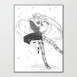 Haruka/Usagi - Spring Canvas Print