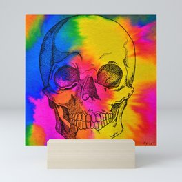 Ode To Skully Mini Art Print