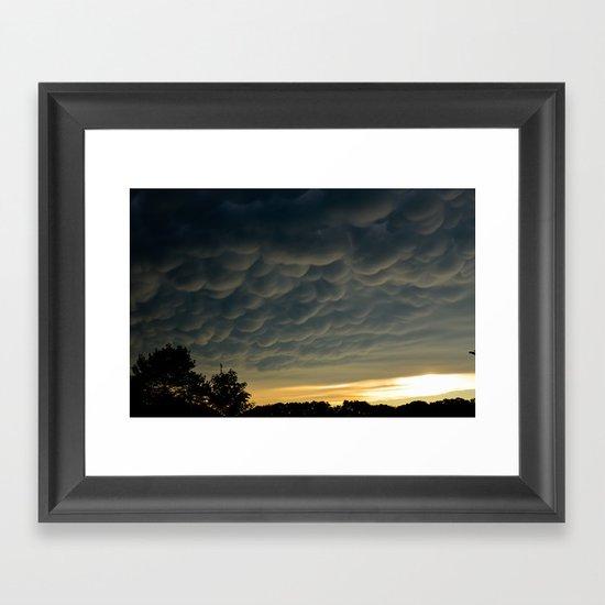Strange Sky Framed Art Print