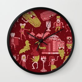 Wow! Vampires! Wall Clock
