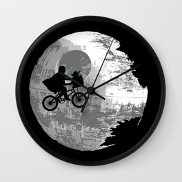 Yoda Phone Home Wall Clock