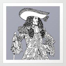 Spanish Explorer Art Print
