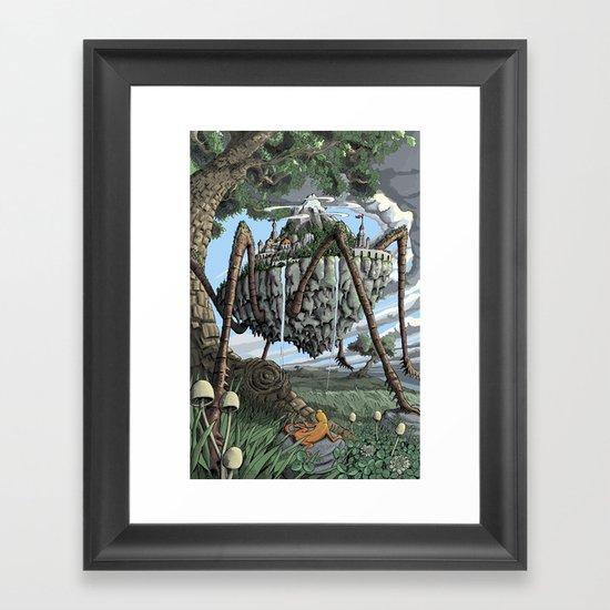 Spiderback Mountain Framed Art Print