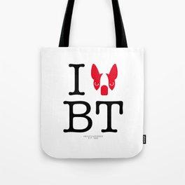 I ♥ BOSTON TERRIER Tote Bag