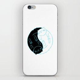 Ying Yang Kitties iPhone Skin