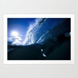 Cobalt Blue Art Print