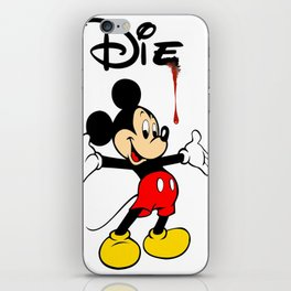 The Poorly Mouse iPhone Skin