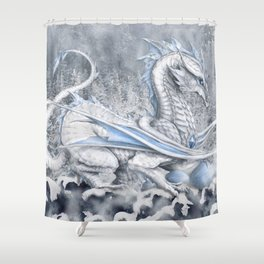 Winter's Promise Shower Curtain