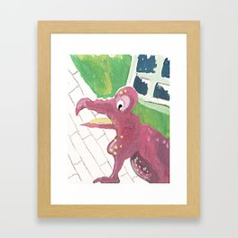 Pretty ugly baby Framed Art Print