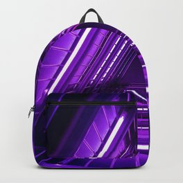 Ultra Violet Triangle Stairs Backpack