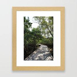 Move along Framed Art Print