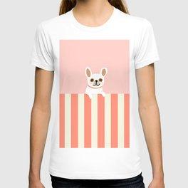 Little_French_Bulldog_LOVE_YOU_Minimalism_001B T-shirt