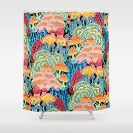 Fungi World (Mushroom world) - BKBG Shower Curtain