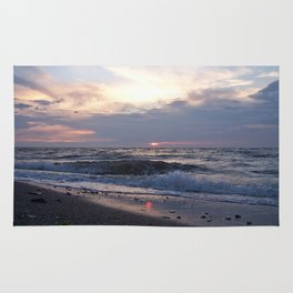 Beach, Sea and Sunset Rug