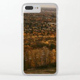 Chair Lift Clear iPhone Case