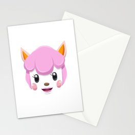 Animal Crossing Reese Stationery Cards
